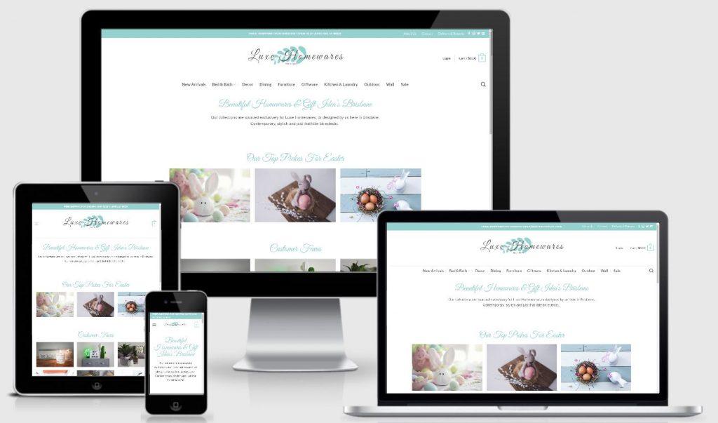 eCommerce | Luxe Homewares
