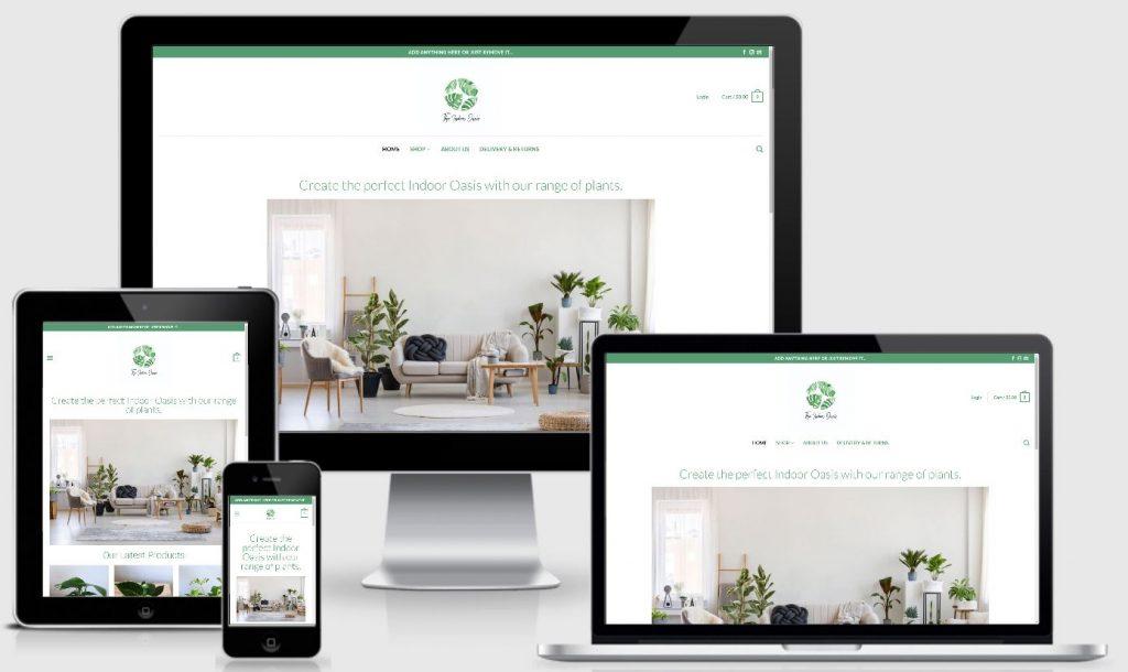 eCommerce | The Indoor Oasis