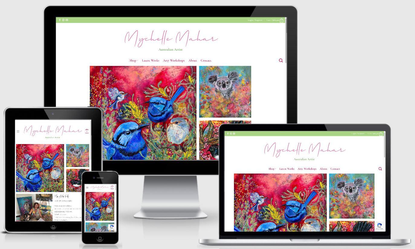 Mychelle Mahar | Australian Artist