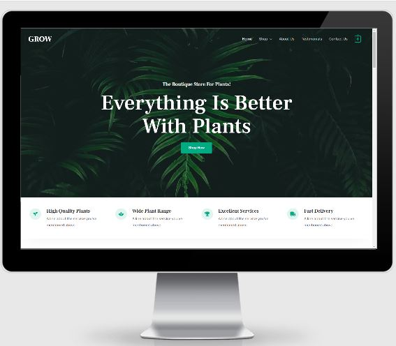 eCommerce Ready-Made Websites